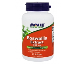 NOW FOODS Boswellia Extract 500mg - 90softgels