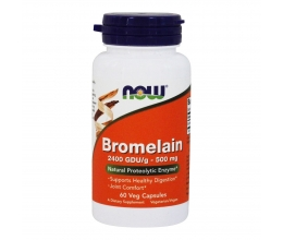 NOW FOODS Bromelain 500mg - 60vcaps