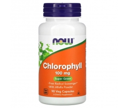 NOW FOODS Chlorophyll 100mg - 90vcaps
