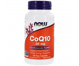 NOW FOODS CoQ10 30mg - 60vcaps