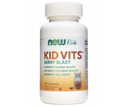 NOW FOODS Kid Vits - 120 chewables (Berry Blast)