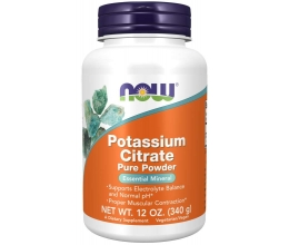 NOW FOODS Potassium Citrate - 340g