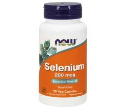 NOW FOODS Selenium 200mcg 90vcaps