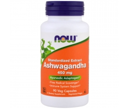 NOW FOODS Ashwagandha 450mg x 90Vcaps