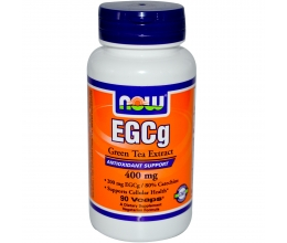 NOW FOODS Green Tea Extract, EGCg 400mg x 90VCaps