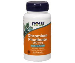 NOW FOODS Chromium Picolinate 200mcg - 100 caps