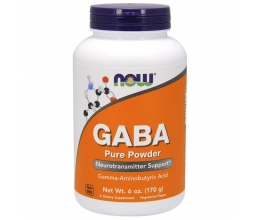 NOW FOODS Gaba Powder 170g