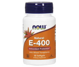 NOW FOODS Vitamin E400iu 50softgels