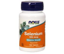 NOW FOODS Selenium 100mcg 100tabs