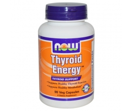 NOW FOODS Thyroid Energy 90 Veggie Caps