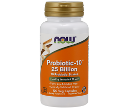 NOW FOODS Probiotic-10, 25 Billion - 50 vcaps