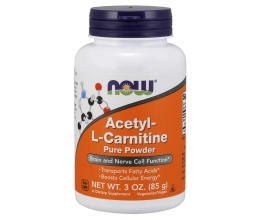 NOW FOODS Acetyl-L-Carnitine 85g