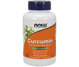 NOW FOODS Curcumin - 60 vcaps