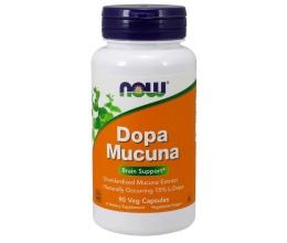 NOW FOODS DOPA Mucuna - 90 vcaps (Dopamiin)