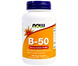 NOW FOODS Vitamin B50 100VCaps