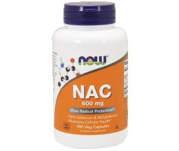 NOW FOODS NAC N-Acetyl Cysteine 600mcg - 100 vcaps