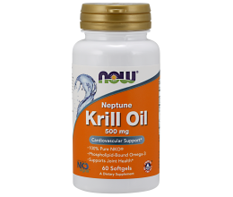 NOW FOODS Neptune Krill Oil 500mg - 60 softgels