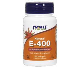 NOW FOODS Vitamin E400iu 50softgels