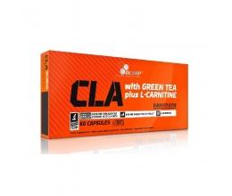 OLIMP CLA & Green Tea plus L-Carnitine - 60 caps BB 18.01.21