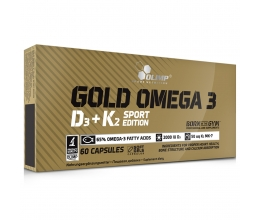 OLIMP Gold Omega 3 D3 + K2 Sport Edition - 60 caps Best Before 23.03/2020