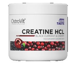 OstroVit Creatine HCL 300g (kreatiinvesinikkloriid) Black Currant & Cherry