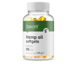 OstroVit Hemp Oil softgels 90 caps