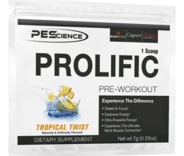 PEScience Prolific 1 serv Melon Berry / Tropical Twist