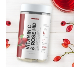 PROZIS Vitamin C 500mg + Rosehip 180 tabs