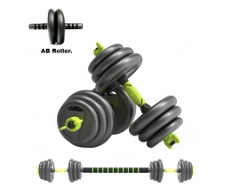 4in1 dumbbell and lever set 40kg