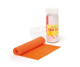 SISSEL Fun & Active Band ORANGE (soft) 15cm x 2m