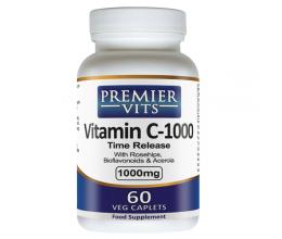 PREMIERVITS Vitamin C-1000 1000mg x 60VCaps