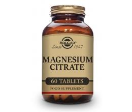 SOLGAR Magnesium Citrate 60tab (Magneesiumtsitraat)