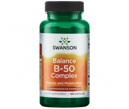 SWANSON Balance B-50 - 100 caps