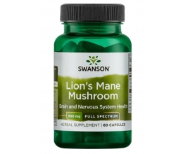 SWANSON Lion´s Mane Mushroom 500mg - 60 caps
