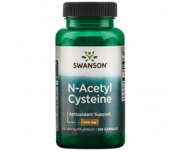 SWANSON N-Acetyl Cysteine, 600mg - 100 caps