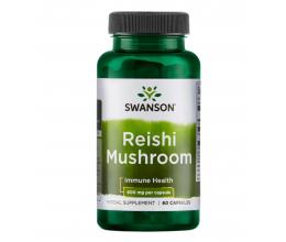 SWANSON Reishi Mushroom, 600mg - 60 caps