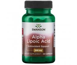 SWANSON Alpha Lipoic Acid, 300mg - 60 caps