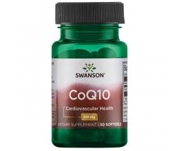 SWANSON CoQ10, 100mg - 50softgels (Koensüüm)