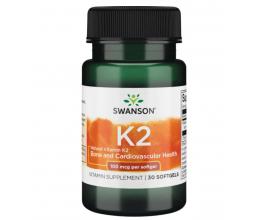 SWANSON Vitamin K2 100mcg - 30 softgels
