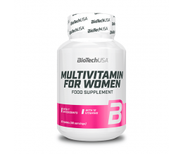 BiotechUSA Multivitamin for Women 60 tablets