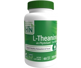 Health Thru Nutrition L-Theanine as PhytoSure 200mg 60vcaps