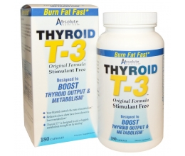 Absolute Nutrition Thyroid T3 - 180 caps