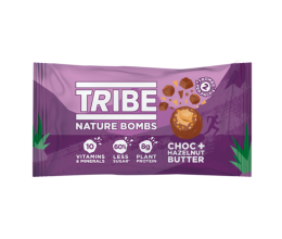 TRIBE Nature Bombs 40g Choc and Hazelnut Butter