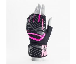 MADMAX MAXGEL Fighting Gloves Black/Pink (MBF-906) S/M