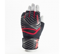 MADMAX MAXGEL Fighting Gloves Black/Red (MBF-906) L/XL
