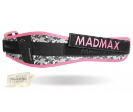 MADMAX WMN Synthetic Belt - Camo / Pink (MFB-314)