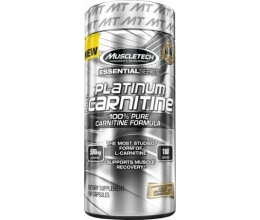 MUSCLETECH Platinum 100% Carnitine - 180caps