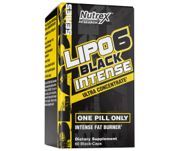 NUTREX Lipo-6 Black Intense Ultra Concentrate 60caps