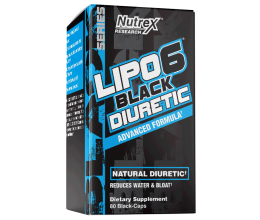 NUTREX Lipo-6 Black Diuretic 80caps