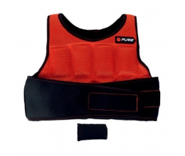 PURE 2Improve weighted vest 4.5kg Red/black